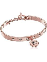 Rose Gold/Crystal Star Toggle Bracelet