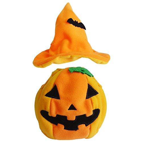 Naitou Design Scratch Yoneda Min-ho Halloween Costume MS Pumpkin Stuffed Toy cat ()