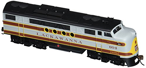 Bachmann Industries E-Z App Smart Phone Controlled Lackawanna #604 FT Locomotive Train - Locomotive Train Phone