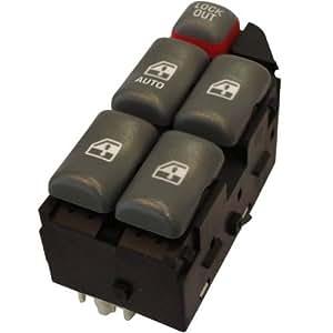 Hqrp power master control window switch for for 1999 pontiac grand prix power window switch