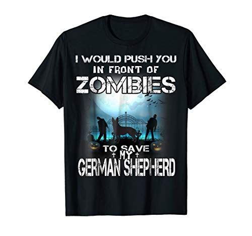 Rush you In front of Zombies to save German Shepherd Dog Lov -