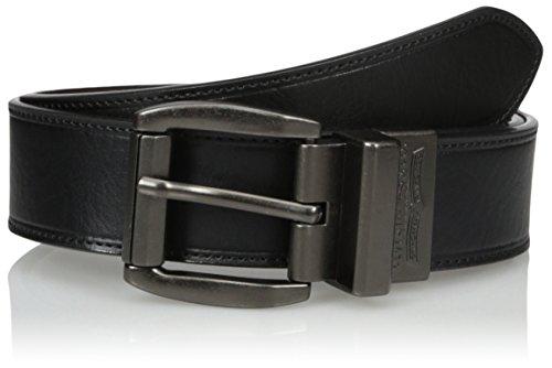 Levi's Men's Black To Brown Laminate Reversible Leather Belt,black/Brown,30 (Laminate Belt)