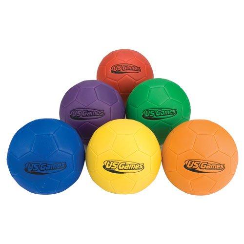 - Sponge Fun Size 4 Soccer Balls (6-Pack)