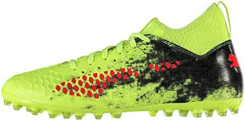 db372e898 Puma Future 18.3 Multi Ground Football Boots Mens Yellow Red Black Soccer  Cleats (