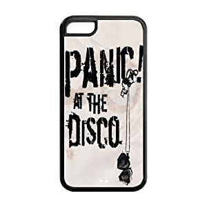 Panic At The Disco Durable TPU Protective Case For Apple iphone 5c (Black, White) Kimberly Kurzendoerfer