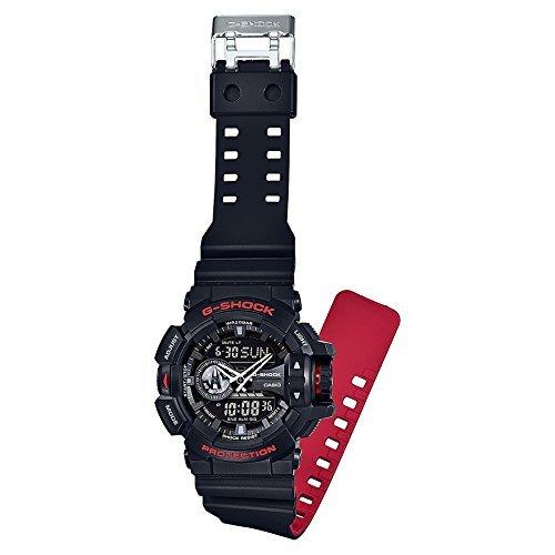 Casio G-Shock herrklocka GA-400HR-1AER, svart/röd