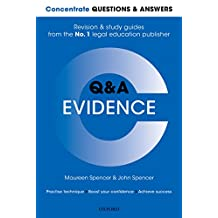 Concentrate Questions and Answers Evidence: Law Q&A Revision and Study Guide (Concentrate Law Questions & Answers)