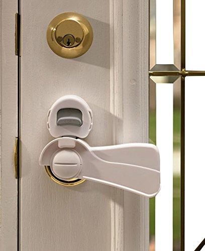 KidCo Door Lever Lock, White S357