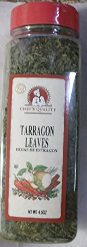 CHEF'S QUALITY TARRAGON LEAVES 4.50 OZ. by Chef's Quality