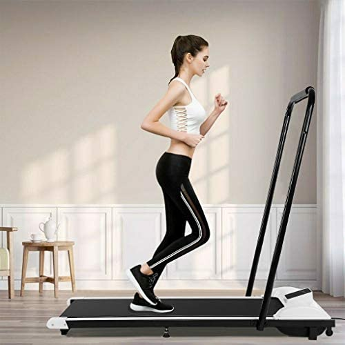 Dengken Under-Desk Folding Walking Treadmill Jogging Exercise Machine Remote Control for Home Gym Fitness Workout Jogging Walking Running Folding Treadmill for Home Gym Cardio Exercise 5