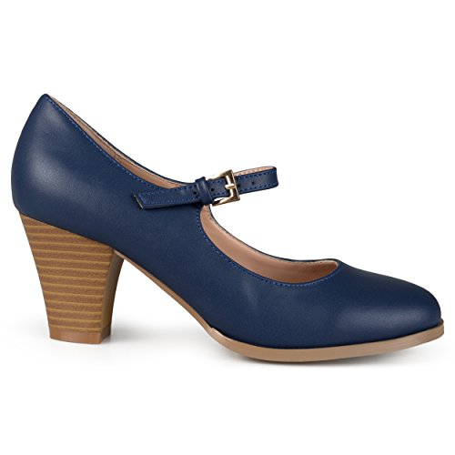 Blue mary jane pumps for women - Trenters.com