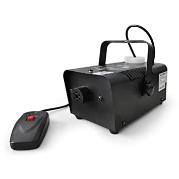 Beamz S500 Máquina de niebla -500W,42,5m³,fluido de niebla: Amazon.es: Electrónica