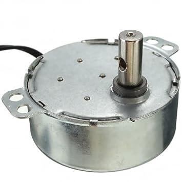 8-10 rpm motor síncrono plataforma giratoria para horno de ...