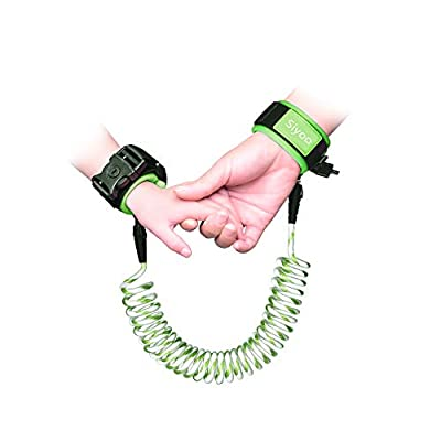 Reflective Anti Lost Wrist Link with Child Lock, Siyoo Toddler Child Harness Leash for Outdoor Activities, Shopping