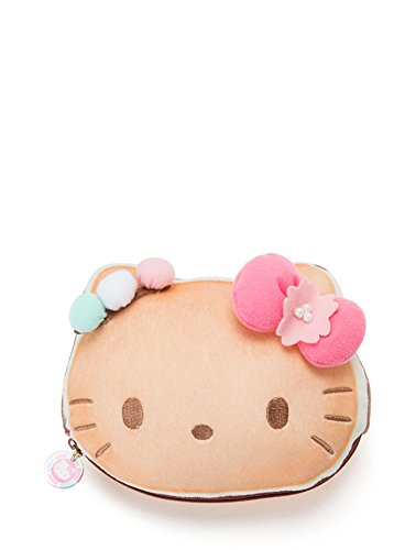 Hello Kitty Sanrio Wakashi Japanese Sweet Pouch Coin Purse Limited Edition 2018