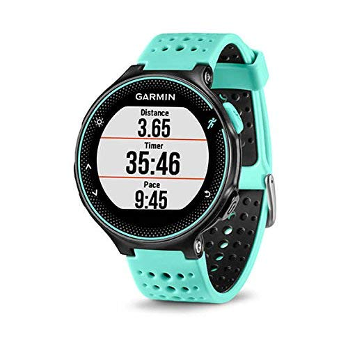 Garmin 010-03717-49 Forerunner 235 with Wrist Based Heart Rate Monitoring, Forest Blue Black
