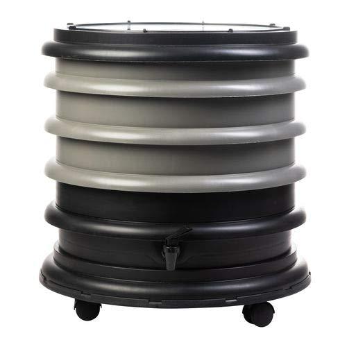 WormBox : Vermicompostador 3 bandejas Gris - 48 litros: Amazon.es ...
