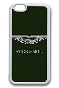 iPhone 6 plus Case, 6 plus Case - Scratch Resistant Soft Rubber Case Bumper for iPhone 6 Aston Martin Car Logo 2 Slim Fit White Rubber Soft Case for iPhone 6 4.7 Inches by Maris's Diaryby Maris's Diary
