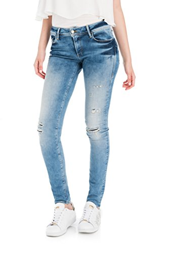 Azzuro Skinny Premium Salsa Wash Push Wonder Denim Up 80w67PB6q