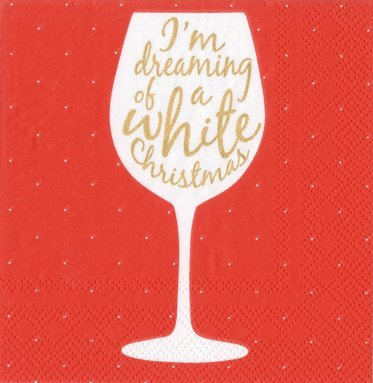 Cocktail Napkins Christmas Party Holiday Bridal Shower Happy Hour Pk 40
