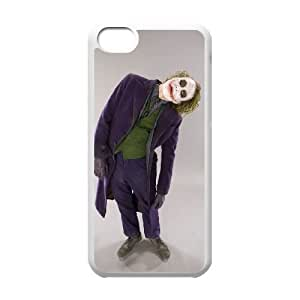 Batman Joker iPhone 5c Cell Phone Case White yyfabc_130459