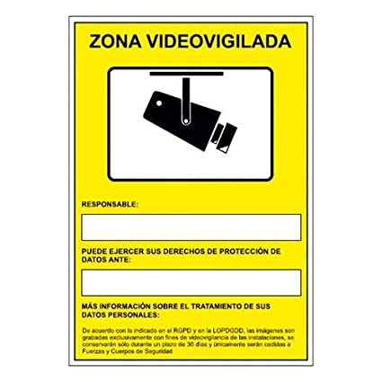 Cartel seguridad