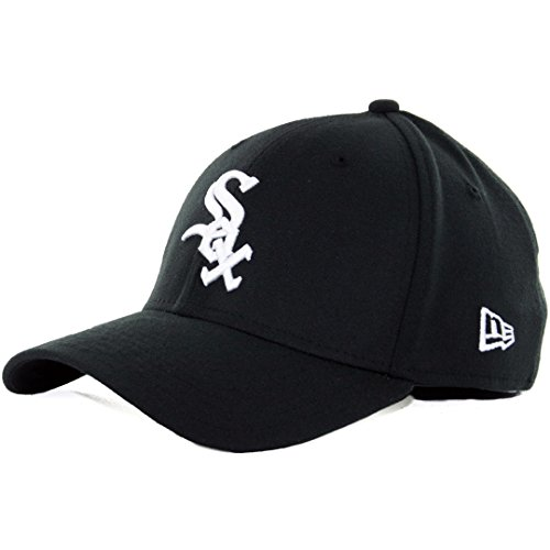 MLB Chicago White Sox Team Classic Game 39Thirty Stretch Fit Cap, Black, Small/Medium