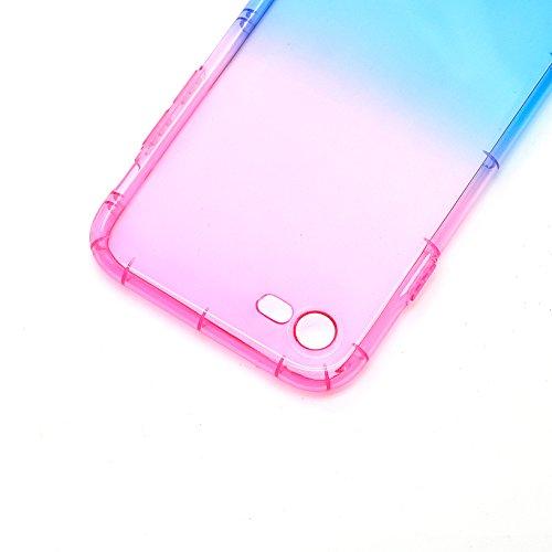 Funda Doble para iPhone 6s, Vandot Bling Brillo Carcasa Protectora 360 Grados Full Body | TPU en Transparente Ultra Slim Case Cover | Protección Completa Delantera y Trasera Cocha Smartphone Móvil Acc JBTPU 02
