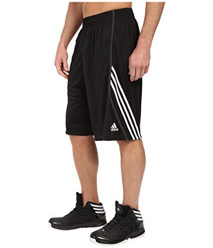 (adidas Men's Basics 1 Shorts, Black/White, Medium)