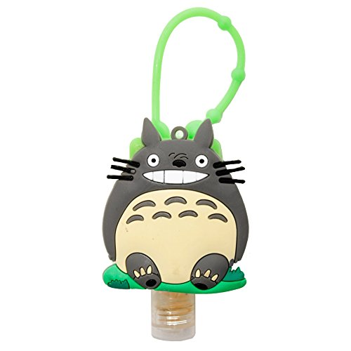 DIYJewelryDepot My Neighbor Totoro Sanitizer Case Cover Assorted Color + Hand Gel Disinfectant (Gel Disinfectant)