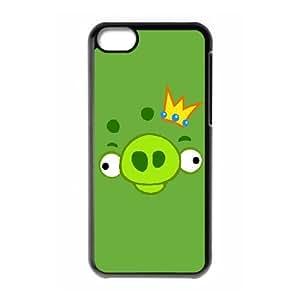 iPhone 5C Phone Case Black angry VJN361122
