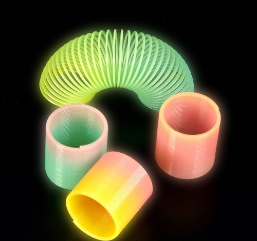1.5'' GLOW-IN-THE-DARK COIL SPRING, Case of 600