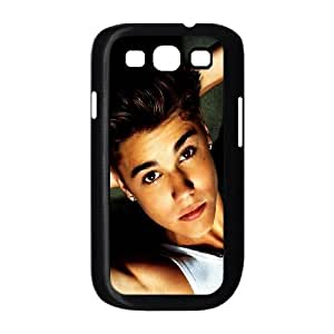 Justin Bieber White Top Samsung Galaxy S3 9300 Cell Phone Case Black Protect your phone BVS_775155