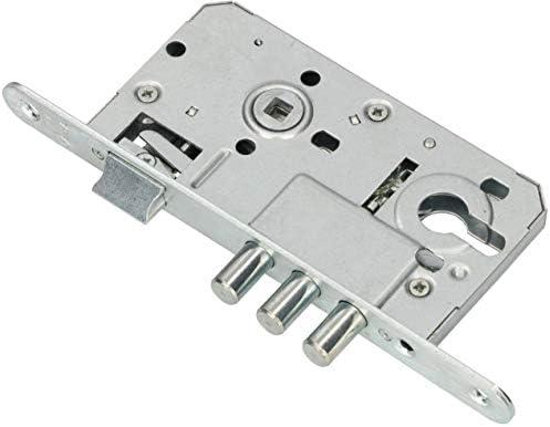 KOTARBAU – Cerradura de puerta 72/50 mm, perno de seguridad universal L/R, cerradura de cierre, cerradura de puerta corredera, interior/exterior: Amazon.es: Bricolaje y herramientas