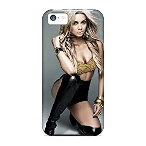 Tpu Shockproof/dirt-proof Havana Brown Cover Case For Iphone(5c)
