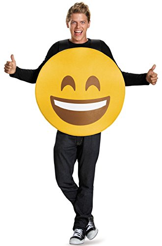 Smiley Face Smile Emoticon Adult Costume