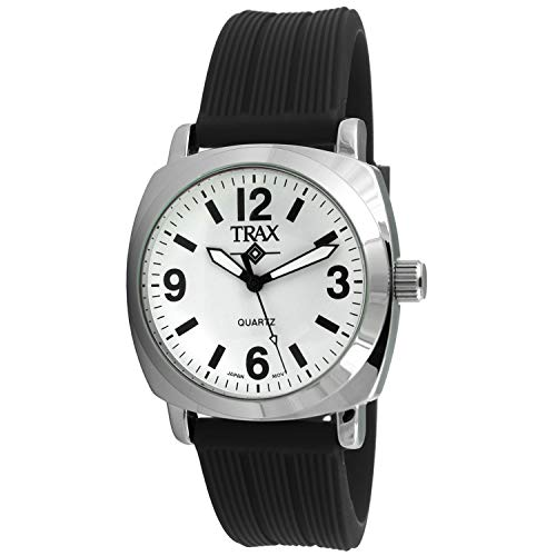 Trax Women Colorfull Light Weight Wrist Watch with Rubber Band Strap