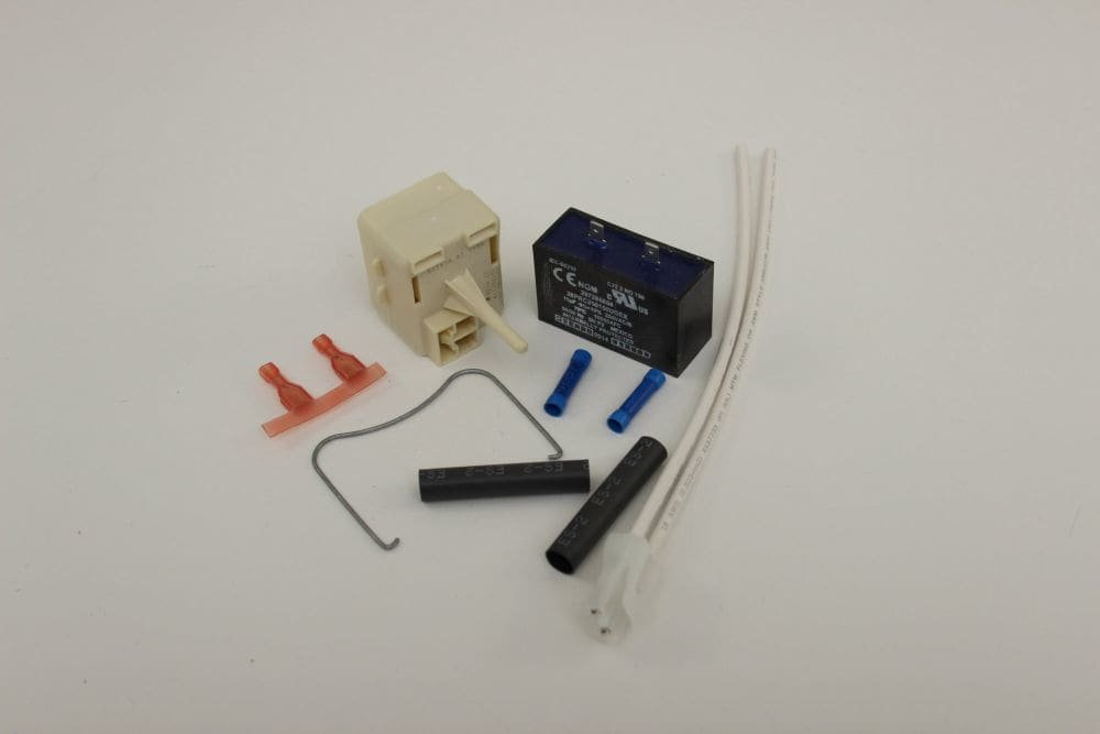 Frigidaire 5304491944 Relay and Overload Kit Black