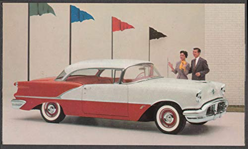1956 Oldsmobile Eighty-Eight Holiday Coupe dealer postcard