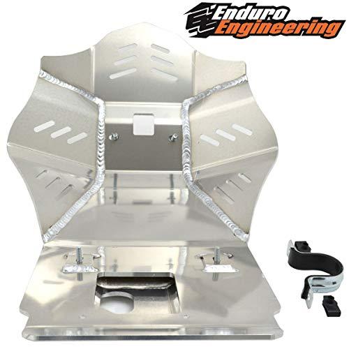 Enduro Engineering Skid Plate for 1987-2007 Kawasaki KLR 650 24-8118 (Footpeg Mounting Plate)