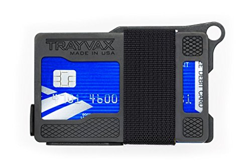 Trayvax Armored Summit Wallet (Shadow Black)