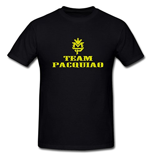 MP Team Manny Pacquiao T-Shirt for Men Black