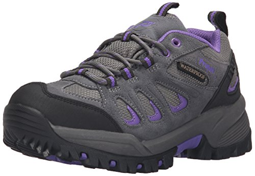 Boot Women's Grey Propet Ridgewalker Purple Low fPx8qBw86
