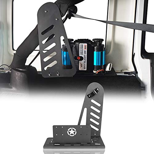 Hooke Road Air Compressor Holder Mount for 2007-2018 Jeep Wrangler JK & Unlimited