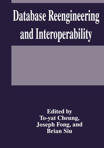 Database Reengineering and Interoperability by Springer