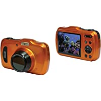 Coleman 20.0 Mega Pixels Waterproof HD Digital Camera with 4x Optical Zoom & 3 LCD Screen, Orange (C30WPZ-O)