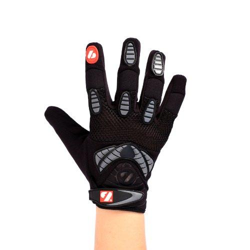FRG-02 American Football Handschuhe Receiver, schwarz (L)
