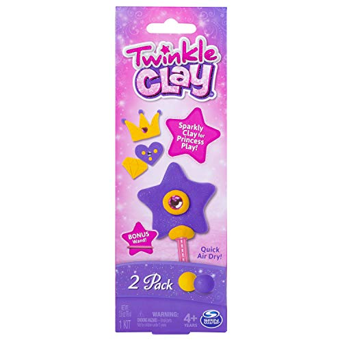 Twinkle Clay - Yellow and Purple 2pk with Bonus Wand by Twinkle Clay