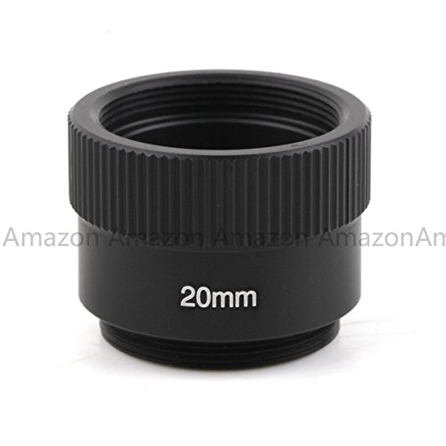 Pixco 20mm C-CS Mount Lens Adapter Ring Extension Tube for CCTV Security Camera