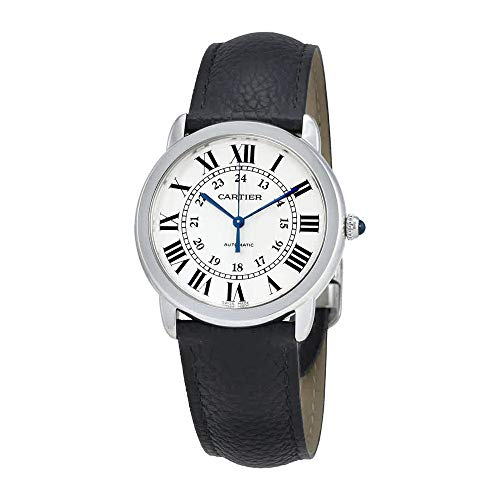 Cartier Ronde Solo Automatic Silver Opaline Dial Ladies Watch WSRN0021